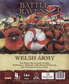 Spirit Games (Est. 1984) - Supplying role playing games (RPG), wargames rules, miniatures and scenery, new and traditional board and card games for the last 20 years sells Battle Ravens: Welsh Army