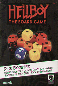 Spirit Games (Est. 1984) - Supplying role playing games (RPG), wargames rules, miniatures and scenery, new and traditional board and card games for the last 20 years sells Hellboy: The Board Game Dice Booster