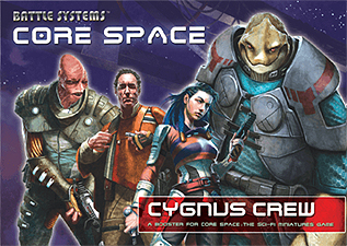 Spirit Games (Est. 1984) - Supplying role playing games (RPG), wargames rules, miniatures and scenery, new and traditional board and card games for the last 20 years sells Core Space: Cygnus Crew