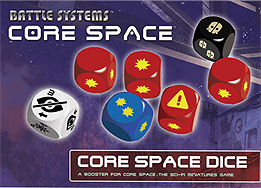 Spirit Games (Est. 1984) - Supplying role playing games (RPG), wargames rules, miniatures and scenery, new and traditional board and card games for the last 20 years sells Core Space: Dice Booster