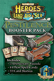 Spirit Games (Est. 1984) - Supplying role playing games (RPG), wargames rules, miniatures and scenery, new and traditional board and card games for the last 20 years sells Heroes of Land, Air and Sea: Pestilence Booster Pack