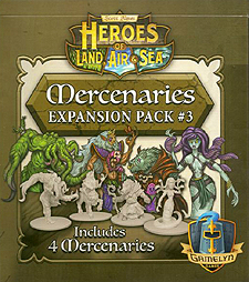 Spirit Games (Est. 1984) - Supplying role playing games (RPG), wargames rules, miniatures and scenery, new and traditional board and card games for the last 20 years sells Heroes of Land, Air and Sea: Mercenaries Expansion Pack #3