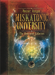 Spirit Games (Est. 1984) - Supplying role playing games (RPG), wargames rules, miniatures and scenery, new and traditional board and card games for the last 20 years sells Miskatonic University: The Restricted Collection