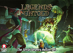 Spirit Games (Est. 1984) - Supplying role playing games (RPG), wargames rules, miniatures and scenery, new and traditional board and card games for the last 20 years sells Legends Untold: The Great Sewers Novice Set