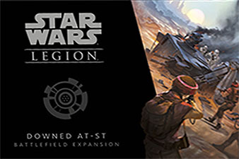 Spirit Games (Est. 1984) - Supplying role playing games (RPG), wargames rules, miniatures and scenery, new and traditional board and card games for the last 20 years sells Star Wars: Legion - Downed AT-ST Battlefield Expansion