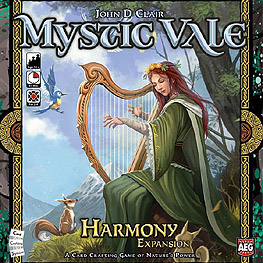 Spirit Games (Est. 1984) - Supplying role playing games (RPG), wargames rules, miniatures and scenery, new and traditional board and card games for the last 20 years sells Mystic Vale: Harmony Expansion