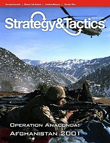 Spirit Games (Est. 1984) - Supplying role playing games (RPG), wargames rules, miniatures and scenery, new and traditional board and card games for the last 20 years sells Strategy and Tactics 276: Operation Anaconda - Afghanistan 2002