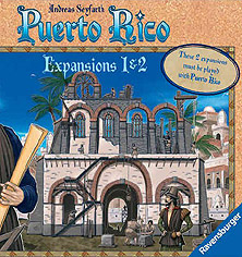 Spirit Games (Est. 1984) - Supplying role playing games (RPG), wargames rules, miniatures and scenery, new and traditional board and card games for the last 20 years sells Puerto Rico: Expansion 1 and 2