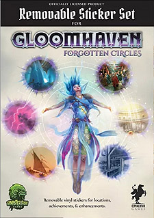 Spirit Games (Est. 1984) - Supplying role playing games (RPG), wargames rules, miniatures and scenery, new and traditional board and card games for the last 20 years sells Gloomhaven: Forgotten Circles Removable Sticker Set