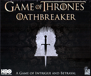 Spirit Games (Est. 1984) - Supplying role playing games (RPG), wargames rules, miniatures and scenery, new and traditional board and card games for the last 20 years sells Game of Thrones: Oathbreaker (inc. Sansa Stark/Jon Snow promo)