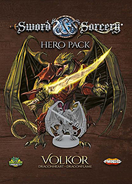 Spirit Games (Est. 1984) - Supplying role playing games (RPG), wargames rules, miniatures and scenery, new and traditional board and card games for the last 20 years sells Sword and Sorcery: Hero Pack Volkor
