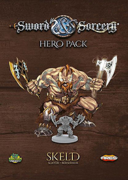 Spirit Games (Est. 1984) - Supplying role playing games (RPG), wargames rules, miniatures and scenery, new and traditional board and card games for the last 20 years sells Sword and Sorcery: Hero Pack Skeld