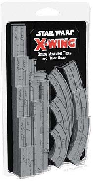Spirit Games (Est. 1984) - Supplying role playing games (RPG), wargames rules, miniatures and scenery, new and traditional board and card games for the last 20 years sells Star Wars: X-Wing 2nd Edition Deluxe Movement Tools and Range Finder