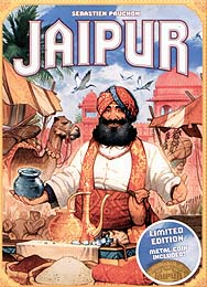 Spirit Games (Est. 1984) - Supplying role playing games (RPG), wargames rules, miniatures and scenery, new and traditional board and card games for the last 20 years sells Jaipur 2nd Edition