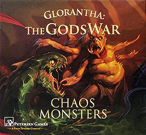 Spirit Games (Est. 1984) - Supplying role playing games (RPG), wargames rules, miniatures and scenery, new and traditional board and card games for the last 20 years sells Glorantha: The Gods War - Chaos Monsters