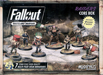 Spirit Games (Est. 1984) - Supplying role playing games (RPG), wargames rules, miniatures and scenery, new and traditional board and card games for the last 20 years sells Fallout: Wasteland Warfare - Raiders Core Box