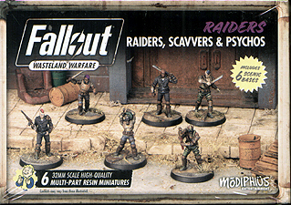 Spirit Games (Est. 1984) - Supplying role playing games (RPG), wargames rules, miniatures and scenery, new and traditional board and card games for the last 20 years sells Fallout: Wasteland Warfare - Raiders, Scavvers and Psychos
