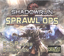 Spirit Games (Est. 1984) - Supplying role playing games (RPG), wargames rules, miniatures and scenery, new and traditional board and card games for the last 20 years sells Shadowrun Sprawl Ops: 5-6 Player Expansion