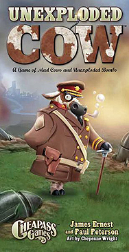 Spirit Games (Est. 1984) - Supplying role playing games (RPG), wargames rules, miniatures and scenery, new and traditional board and card games for the last 20 years sells Unexploded Cow
