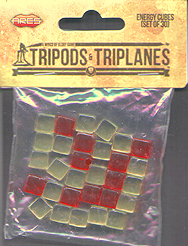 Spirit Games (Est. 1984) - Supplying role playing games (RPG), wargames rules, miniatures and scenery, new and traditional board and card games for the last 20 years sells Wings of Glory Tripods and Triplanes: Energy Cubes