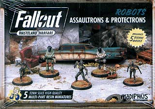 Spirit Games (Est. 1984) - Supplying role playing games (RPG), wargames rules, miniatures and scenery, new and traditional board and card games for the last 20 years sells Fallout: Wasteland Warfare - Robots Assaultrons and Protectrons