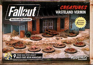 Spirit Games (Est. 1984) - Supplying role playing games (RPG), wargames rules, miniatures and scenery, new and traditional board and card games for the last 20 years sells Fallout: Wasteland Warfare - Creatures Wasteland Vermin