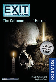 Spirit Games (Est. 1984) - Supplying role playing games (RPG), wargames rules, miniatures and scenery, new and traditional board and card games for the last 20 years sells EXIT: The Catacombs of Horror