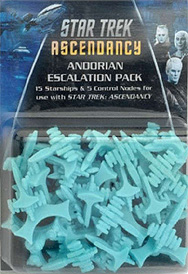 Spirit Games (Est. 1984) - Supplying role playing games (RPG), wargames rules, miniatures and scenery, new and traditional board and card games for the last 20 years sells Star Trek: Ascendancy - Andorian Escalation Pack