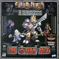 Spirit Games (Est. 1984) - Supplying role playing games (RPG), wargames rules, miniatures and scenery, new and traditional board and card games for the last 20 years sells Clank! Acquisitions Incorporated - The C Team Pack