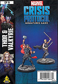 Spirit Games (Est. 1984) - Supplying role playing games (RPG), wargames rules, miniatures and scenery, new and traditional board and card games for the last 20 years sells Marvel: Crisis Protocol Thor & Valkyrie
