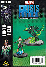 Spirit Games (Est. 1984) - Supplying role playing games (RPG), wargames rules, miniatures and scenery, new and traditional board and card games for the last 20 years sells Marvel: Crisis Protocol Loki & Hela