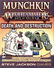 Spirit Games (Est. 1984) - Supplying role playing games (RPG), wargames rules, miniatures and scenery, new and traditional board and card games for the last 20 years sells Munchkin Warhammer Age of Sigmar: Death and Destruction