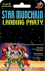 Spirit Games (Est. 1984) - Supplying role playing games (RPG), wargames rules, miniatures and scenery, new and traditional board and card games for the last 20 years sells Star Munchkin: Landing Party