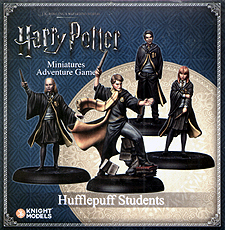 Spirit Games (Est. 1984) - Supplying role playing games (RPG), wargames rules, miniatures and scenery, new and traditional board and card games for the last 20 years sells Harry Potter Miniatures Adventure Game: Hufflepuff Students