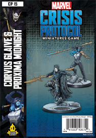 Spirit Games (Est. 1984) - Supplying role playing games (RPG), wargames rules, miniatures and scenery, new and traditional board and card games for the last 20 years sells Marvel: Crisis Protocol Corvus and Glaive Proxima Midnight