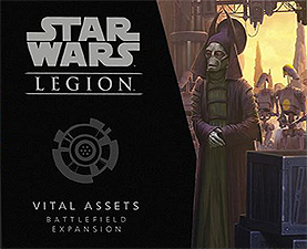 Spirit Games (Est. 1984) - Supplying role playing games (RPG), wargames rules, miniatures and scenery, new and traditional board and card games for the last 20 years sells Star Wars: Legion - Vital Assets Battlefield Expansion