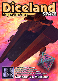 Spirit Games (Est. 1984) - Supplying role playing games (RPG), wargames rules, miniatures and scenery, new and traditional board and card games for the last 20 years sells Diceland Space: Garthans Vs. Muktians