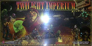 Spirit Games (Est. 1984) - Supplying role playing games (RPG), wargames rules, miniatures and scenery, new and traditional board and card games for the last 20 years sells Twilight Imperium 3rd Edition