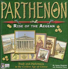Spirit Games (Est. 1984) - Supplying role playing games (RPG), wargames rules, miniatures and scenery, new and traditional board and card games for the last 20 years sells Parthenon: Rise of the Aegean