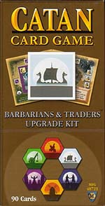 Spirit Games (Est. 1984) - Supplying role playing games (RPG), wargames rules, miniatures and scenery, new and traditional board and card games for the last 20 years sells Catan Card Game Upgrade Kit: Barbarians and Traders