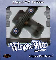 Spirit Games (Est. 1984) - Supplying role playing games (RPG), wargames rules, miniatures and scenery, new and traditional board and card games for the last 20 years sells Wings of War: Sopwith Camel (Barker) WWI Series I
