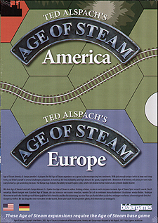 Spirit Games (Est. 1984) - Supplying role playing games (RPG), wargames rules, miniatures and scenery, new and traditional board and card games for the last 20 years sells Age of Steam Expansion: America/Europe