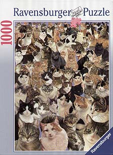 Spirit Games (Est. 1984) - Supplying role playing games (RPG), wargames rules, miniatures and scenery, new and traditional board and card games for the last 20 years sells Jigsaw: Cats Galore (Kitten Collage) 1000pc