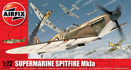 Spirit Games (Est. 1984) - Supplying role playing games (RPG), wargames rules, miniatures and scenery, new and traditional board and card games for the last 20 years sells Kit: Supermarine Spitfire Mk1a