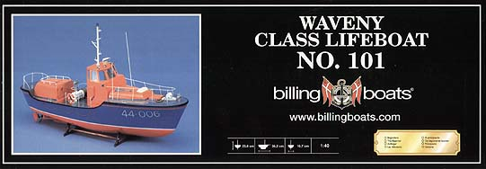 Spirit Games (Est. 1984) - Supplying role playing games (RPG), wargames rules, miniatures and scenery, new and traditional board and card games for the last 20 years sells Kit: Waveny Class Lifeboat