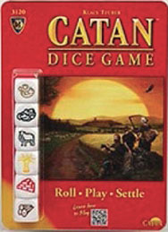 Spirit Games (Est. 1984) - Supplying role playing games (RPG), wargames rules, miniatures and scenery, new and traditional board and card games for the last 20 years sells Catan Dice Game by