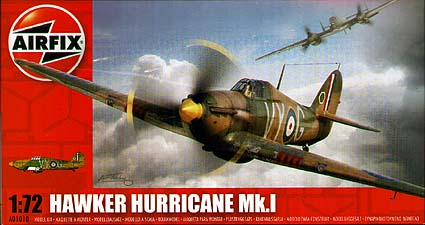Spirit Games (Est. 1984) - Supplying role playing games (RPG), wargames rules, miniatures and scenery, new and traditional board and card games for the last 20 years sells Kit: Hawker Hurricane MkI