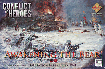 Spirit Games (Est. 1984) - Supplying role playing games (RPG), wargames rules, miniatures and scenery, new and traditional board and card games for the last 20 years sells Conflict of Heroes: Awakening the Bear! 2nd Edition