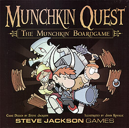 Spirit Games (Est. 1984) - Supplying role playing games (RPG), wargames rules, miniatures and scenery, new and traditional board and card games for the last 20 years sells Munchkin Quest Board Game