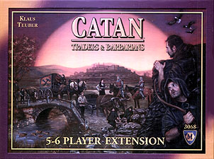 Spirit Games (Est. 1984) - Supplying role playing games (RPG), wargames rules, miniatures and scenery, new and traditional board and card games for the last 20 years sells Catan: Traders and Barbarians 5/6 Player Expansion